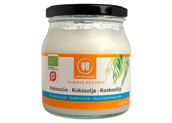 Urtekram Coconut oil smagsneutral Ø