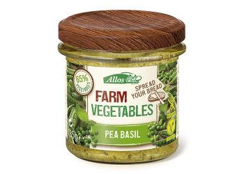 Allos Farm Vegetables Smørepålæg Ærter/Basilikum Ø