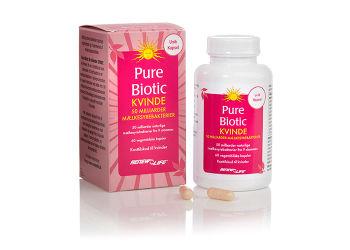 Pure Biotic 50 milliarder Kvinne -  Melkesyrebakterier