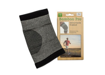 Bamboo Pro Knæbind, Str. L Selvvarmende