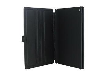 Tabletcover Ipad 2/3/4 sort Exclusive, PU læder m. 3-trin