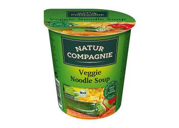 Natur Compagnie Grøntsags- og nuddelsuppe Asiatisk instant