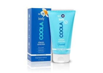 Coola Classic body sunscreen SPF 30 unscented moisturizer