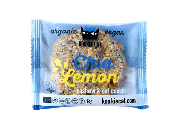 Kookie Cat Chia Lemon Eko