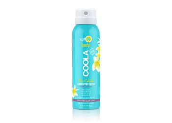 Coola Sport Continious Spray SPF30 Pina Colada Rejsestørrelse