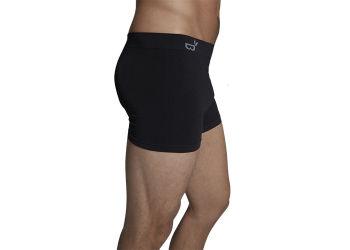 Boody Boxer Shorts Sort Str. L