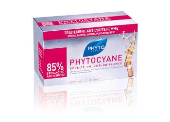 Phyto Serum Hårpleje cyane 12 * 7,5 Ml