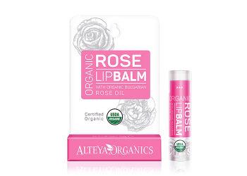 Alteya Organics Lipbalm Bulgarian Rose Oil