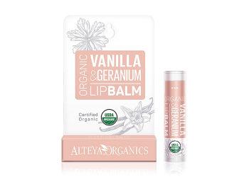 Alteya Organics Lipbalm Vanilla Geranium