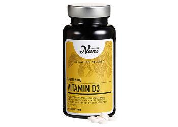 Nani Vitamin D3 vegetabilsk