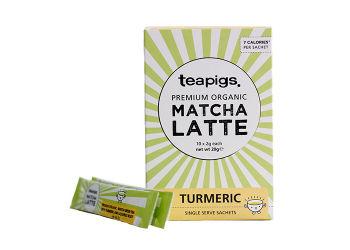 Teapigs Te Matcha Latte Gurkemeje -