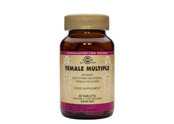 Solgar Female Multiple Multivitamin Til Kvinder