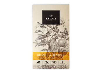 La Naya Chokolade - Appelsin & Enebær