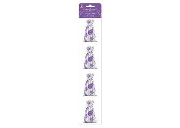 Plantes & Parfums Lavendelposer med tørret  Provencelavendel sæt med 4x18 g.