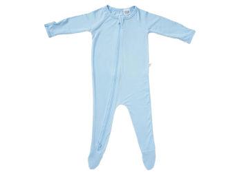 Boody Baby Sparkedragt Blå 6-12 Mdr