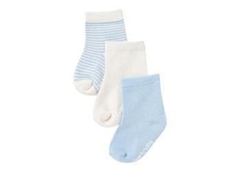 Boody Baby Strømper Blå 0-3 Mdr 3-pak