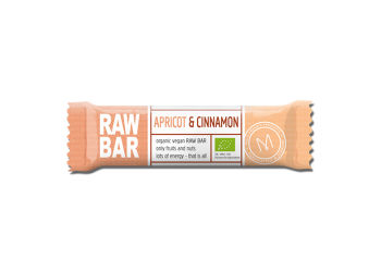 Mols Organic Raw Bar Apricot & Cinnamon Ø