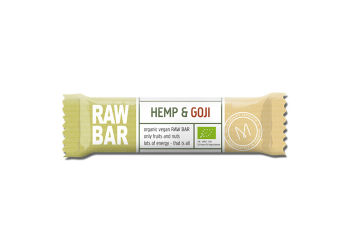 Mols Organic Raw Bar Hemp & Goji Ø