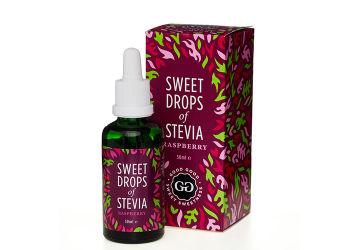 Good Good Sweet Drops of Stevia - Bringebær
