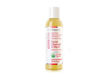Alteya Organics Facial Cleanser Vanilla og Geranium