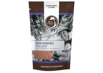 Big tree farms Kakaopulver Raw Ø