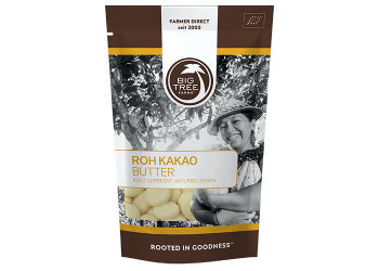 Big tree farms Kakaosmør Raw Ø