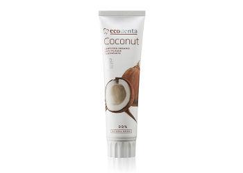 ecodenta Tandpasta m. kokosnød u. flour