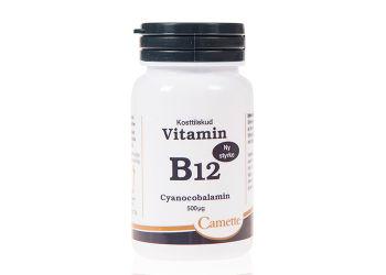 Camette B12 Vitamin 500 Mcg  Cyanocobalamin