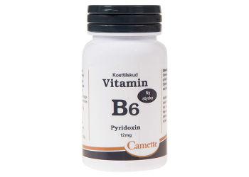 Camette B6 Vitamin Pyridoxin 12mg