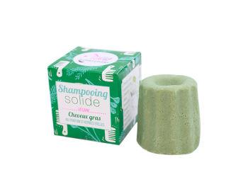 Lamazuna Shampoobar Til Fedtet Hår  Med Duft Af Urter