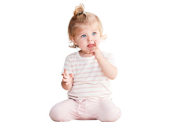 Boody Baby T-shirt Stribet Hvid/rose 6-12 Mdr