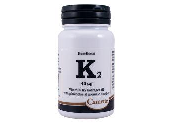 Camette K2 Vitamin 45 mcg.