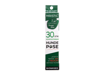 Maistic Komposterbar Hundepose lille-Medium 2. GEN