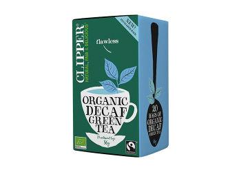 Clipper Grønn Te Koffeinfri Ø