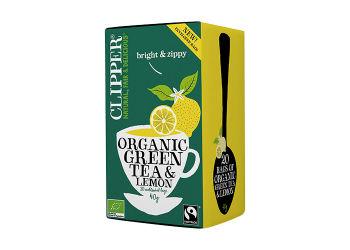 Clipper Grøn Te m. Citron Ø