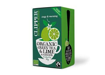 Clipper Grøn Te m. Lime & Ingefær Ø