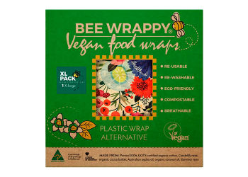 Bee Wrappy Vegan Food Wraps - Xl