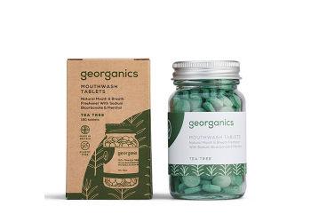 Georganics Mundskyl Tabletter, Tea Tree