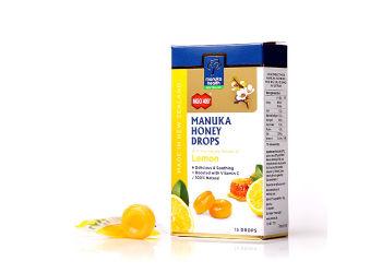 Manuka Health Manuka Honning Drops Lemon