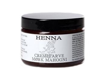 Henna  Cremefarve Mørk Mahogni
