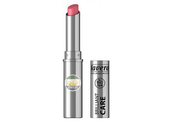 Lavera Lipstick Oriental Rose 03 Q10 Brilliant Care