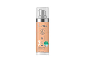 Lavera Foundation Honey Sand 03 Soft Liquid
