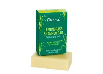 Nurme Purest Beauty Shampoobar Lemongrass For Hair & Body