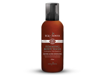 Eco By Sonya Foaming body wash m. forfriskende citrongræs