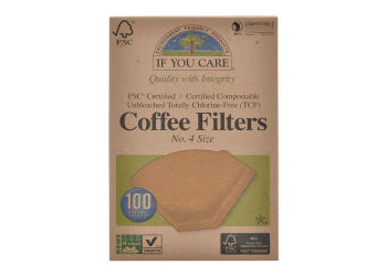 If you care Kaffefilter Ubleget No. 4