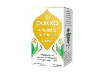 Pukka  Wholistic Turmeric Gurkemeje Ø Pukka