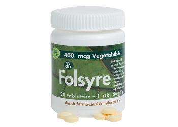 DFI Folsyre 400 mcg