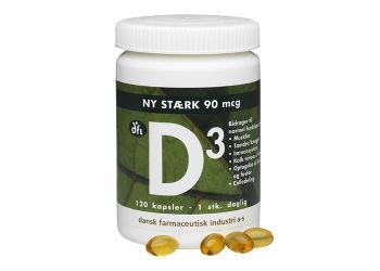 DFI D3-vitamin 90 mcg