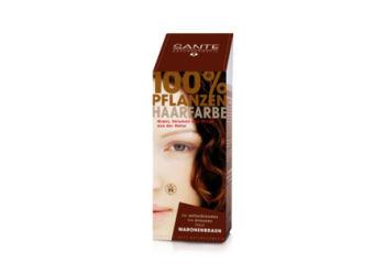 Sante - Pure Herbal Hair Colors Hårfarve Chestnut Brown  Pure Herbal Hair Colors