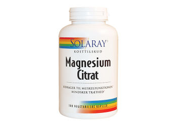 Solaray Magnesium Citrat